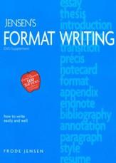 Frode jensen language arts curriculum christianbook jensens format writing dvd supplement fandeluxe Choice Image