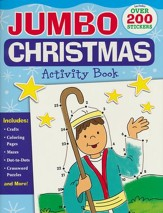 Jumbo Christmas Activity Book