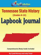 Tennessee State History Lapbook Journal - PDF Download [Download]