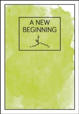 A New Beginning green plant - pamphlet - pack of 10