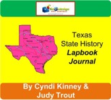 Texas State History Lapbook Journal - PDF Download [Download]