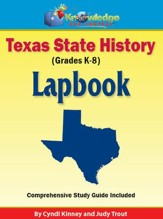 Texas State History Lapbook - PDF Download [Download]