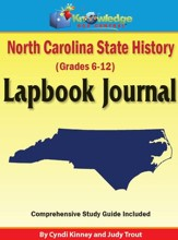 North Carolina State History Lapbook Journal - PDF Download [Download]