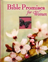 Bible Promises For Women: Padded Hard Cover with Ornament and Ribbon