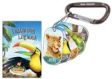 Shipwrecked: Bible Memory Buddies + Carabiners + Castaway  Logbooks (enough for 10 kids)