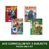 ACE Core Curriculum Kit (4 Subjects), PACEs Only, Grade 6