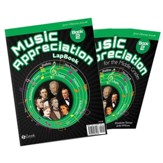Music Appreciation: Book 2 for the  Middle Grades, Student Book + Lapbook