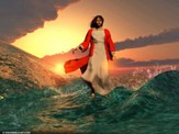 Jesus walks on water [Download]