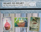 Heart to Heart, All Occasion Cards, Box of 24