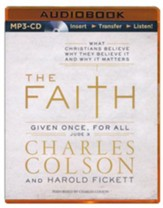 The Faith - unabridged audiobook on MP3-CD