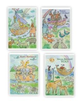 Noah's Ark (Juvenile Birthday) Box of 12 (KJV)