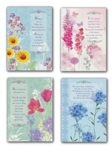 Floral Impressions Birthday Cards, Box of 12 (KJV)