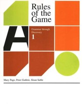 Rules Of The Game, Book #1