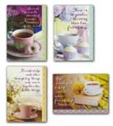 Coffee Time, Friendship Cards, Box of 12 (KJV)
