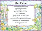 Catholic: Our Father - Laminated Poster