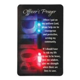 Police Officer's Prayer Pocket Card