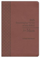 365 Encouraging Verses of the Bible for Men: A Daily Devotional - Slightly Imperfect