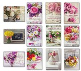 Fanciful Florals, Cheer & Encouragement Assortment,  Box of 24