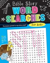 Bible Story Word Searches for Kids
