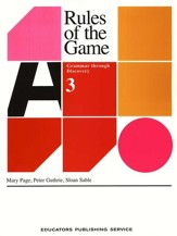 Rules Of The Game, Book #3