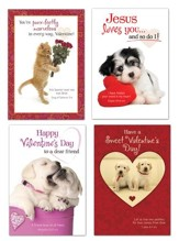 My Fuzzy Valentine, Box of 12 Valentine's Day Cards