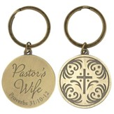 Pastor's Wife, Proverbs 31:10-12, Keyring