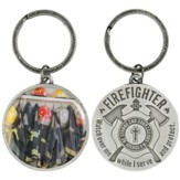 Firefighter's Prayer Keyring