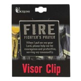 Firefighter's Prayer Visor Clip