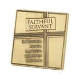 Faithful Servant Tabletop Plaque