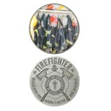 Firefighter's Prayer Pocket Stone