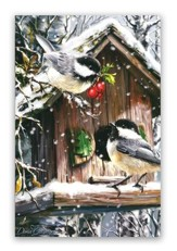 Snow Birds Christmas Cards, Box of 18