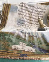 Psalm 23, Cotton Throw