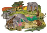 3D Safari Floor Puzzle