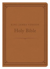 The KJV Compact Gift & Award Bible Reference Edition (Camel) - Imperfectly Imprinted Bibles
