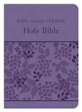 The KJV Compact Gift & Award Bible Reference Edition (Purple)