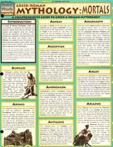 Mythology: Greek & Roman Mortals Chart