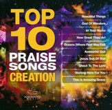 Top 10 Praise Songs: Creation, CD