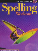 Spelling Workout 2001/2002 Level H  Teacher Edition