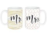 Mr. & Mrs. Mugs, Set of 2