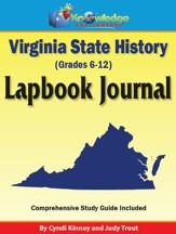 Virginia State History Lapbook Journal - PDF Download [Download]