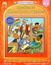 Obedience Bible Story Puzzles Grades PK-K
