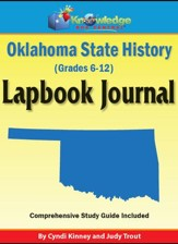 Oklahoma State History Lapbook Journal - PDF Download [Download]