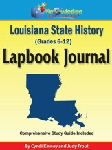 Louisiana State History Lapbook Journal - PDF Download [Download]