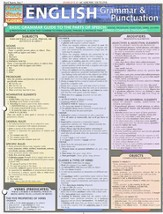 English Grammar & Punctuation Chart