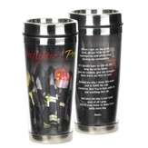Firefighter's Prayer Stainless Steel Travel Mug