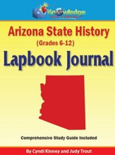 Arizona State History Lapbook Journal - PDF Download [Download]