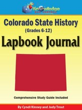Colorado State History Lapbook  Journal - PDF Download [Download]