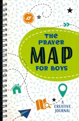 Prayer Map for Boys: A Creative Journal