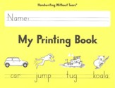 My Printing Book Student Workbook Grade 1, Updated Edition