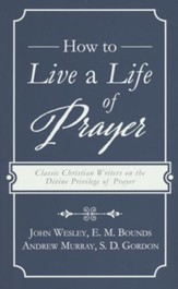How to Live a Life of Prayer: Classic Christian Writers on the Divine Privilege of Prayer - Slightly Imperfect
